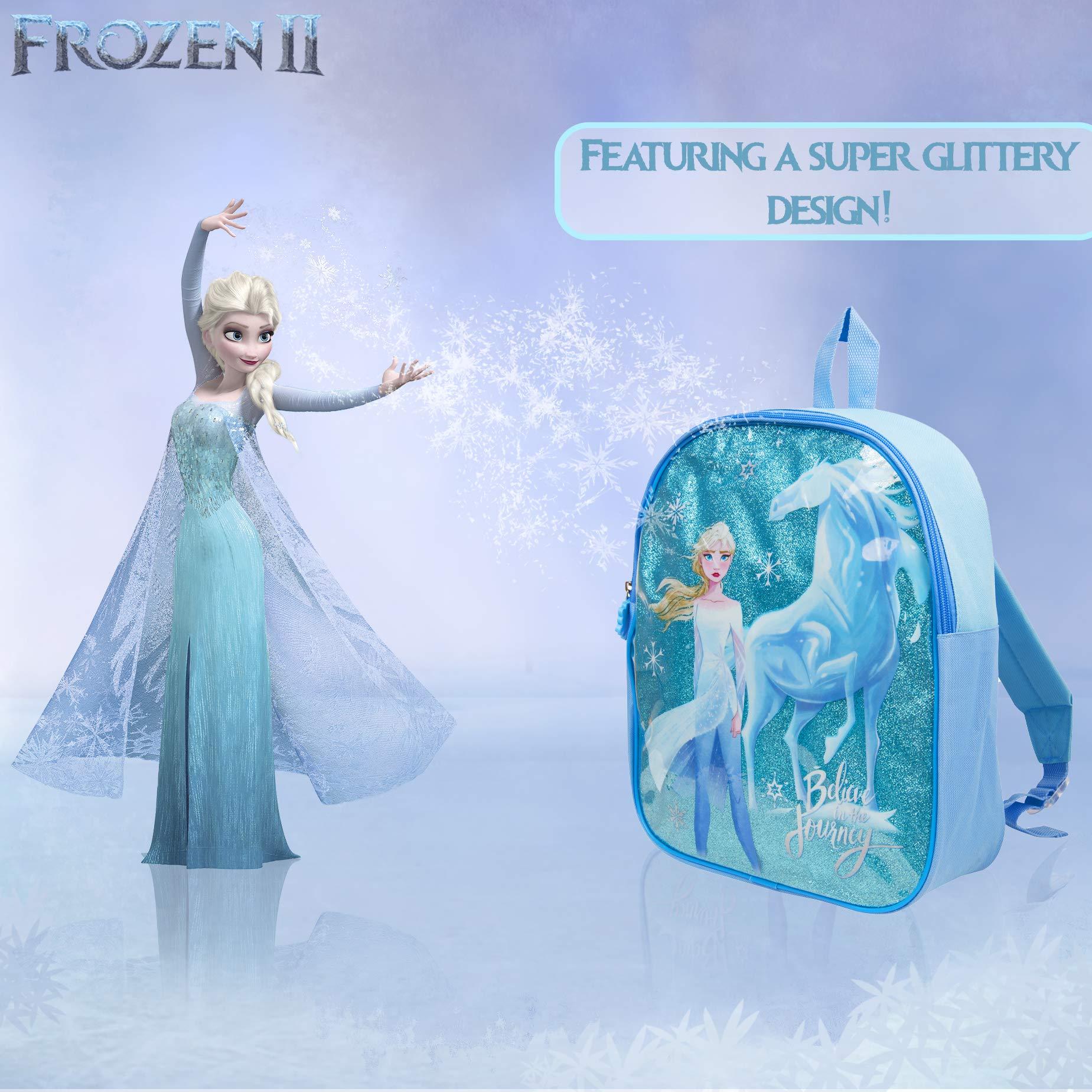 Regalos Guarderia 2 Anos.Disney Frozen 2 Mochila Infantil De Elsa Para Ninas Azul Brillante El Reino Del Hielo Cole Preescolar O Guarderia Mochilas Disney Escolares