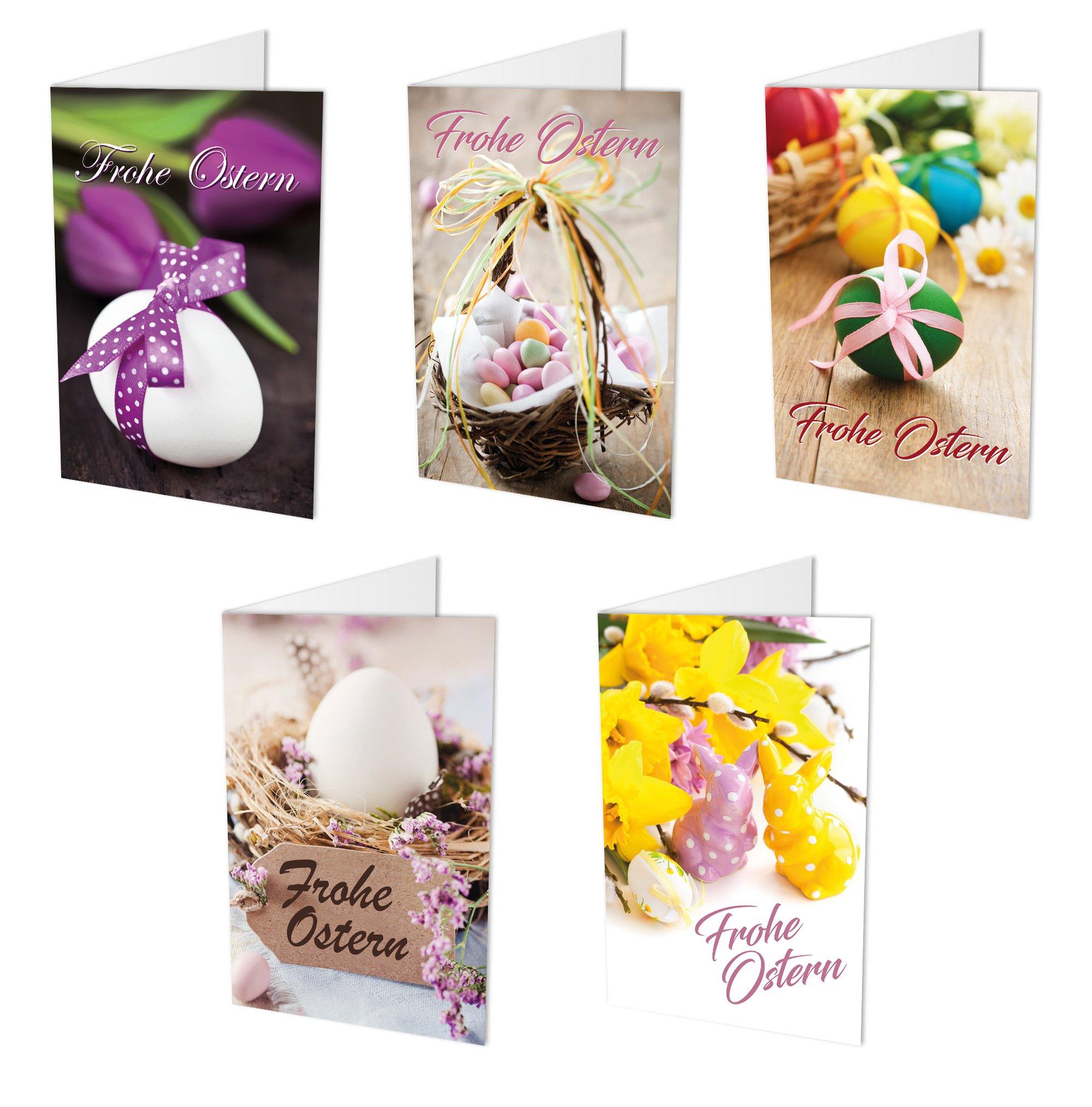 Set 20er wundersch/öne Weihnachtskarten inkl DIN A6 10 verschiedene Motive Umschl/äge ideal zum Verschenken