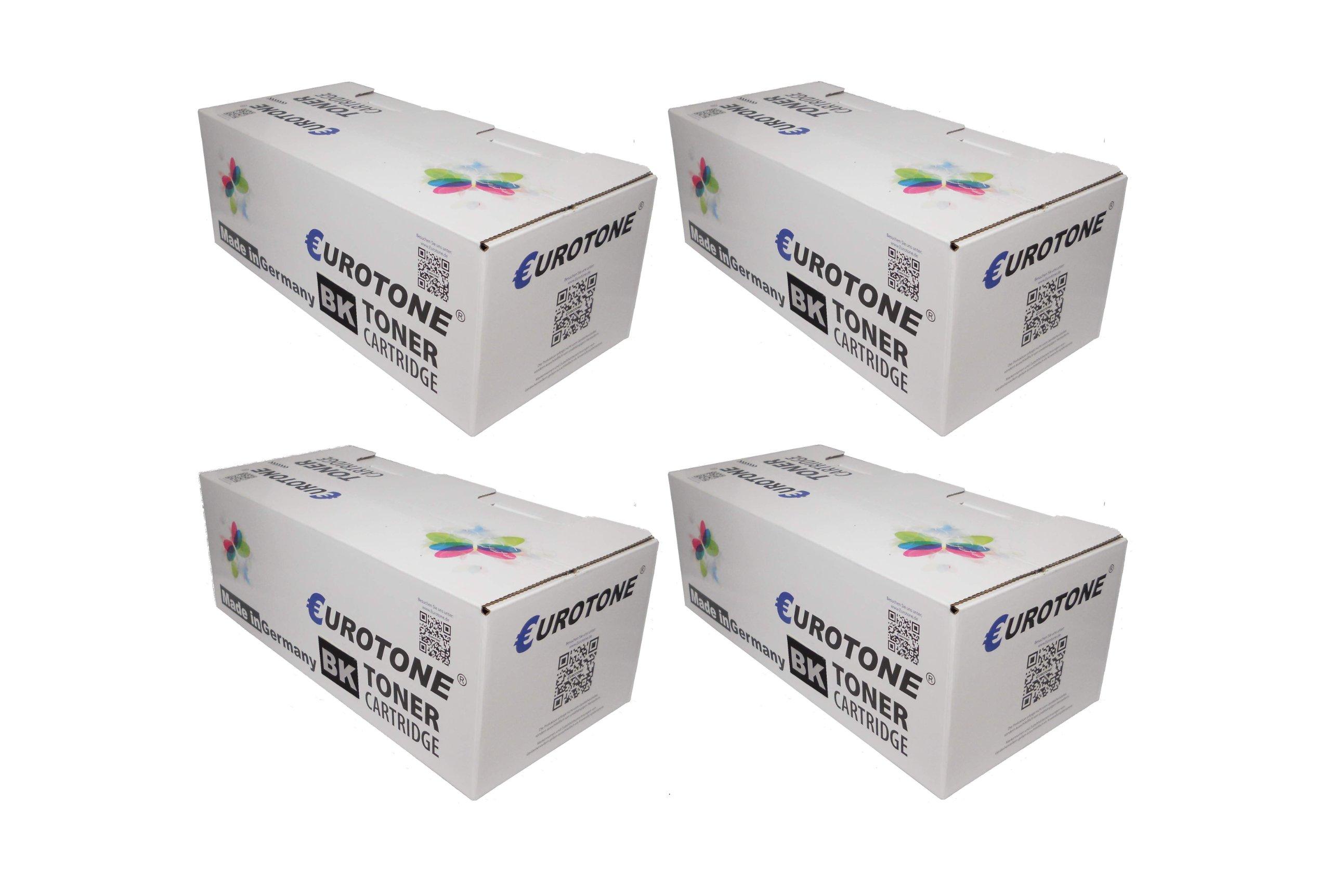4x Eurotone Toner cartucce per Samsung ProXpress C2670FW /SEE und C2620DW /SEE sostituito NERO CLT-K