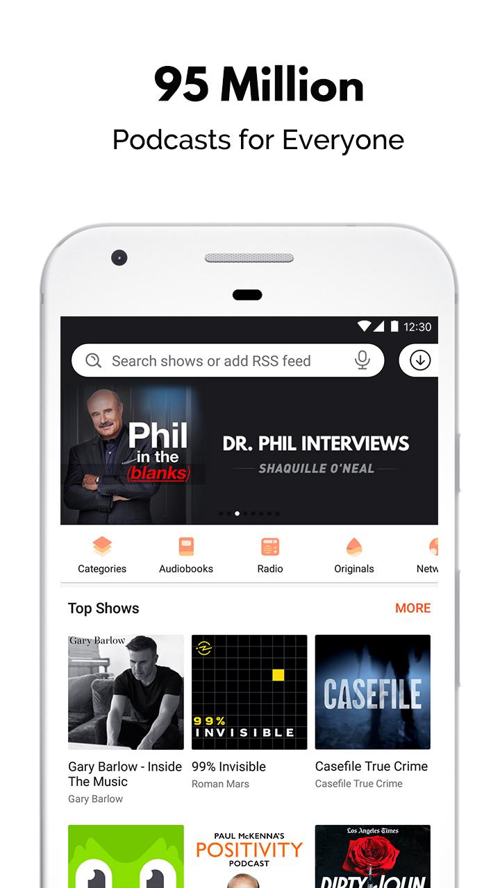 Castbox - Free Podcast Player, Radio & Audio Books