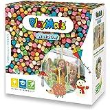 PlayMais Window Autunno-Inverno Kit Fai da Te per Bambini da 3 Anni in su I Set con 2300 Pezzi Colorati, Formato Mosaic I cre