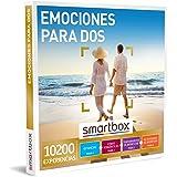 Smartbox - Caja Regalo Emociones para Dos - Idea de Regalo Padres - 1 Experiencia de Estancia, Cena, Bienestar o Aventura par