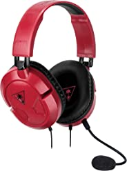 Turtle Beach Recon 50 Red Stereo Gaming Headset Pc/Nintendo Switch/Xbox One/Ps4, Tbs-6004-02