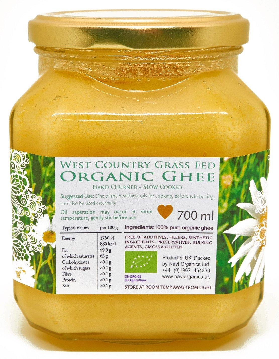 Organic Certified - Grass Fed - English Ghee (350 ml) 2