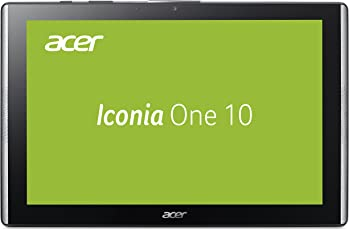 Acer Iconia One 10 B3-A40 25,7 cm (10,1 Zoll HD IPS Multi-Touch) Multimedia Tablet (Quad-Core, 2GB RAM, 32GB eMMC, Android 7.0) Schwarz
