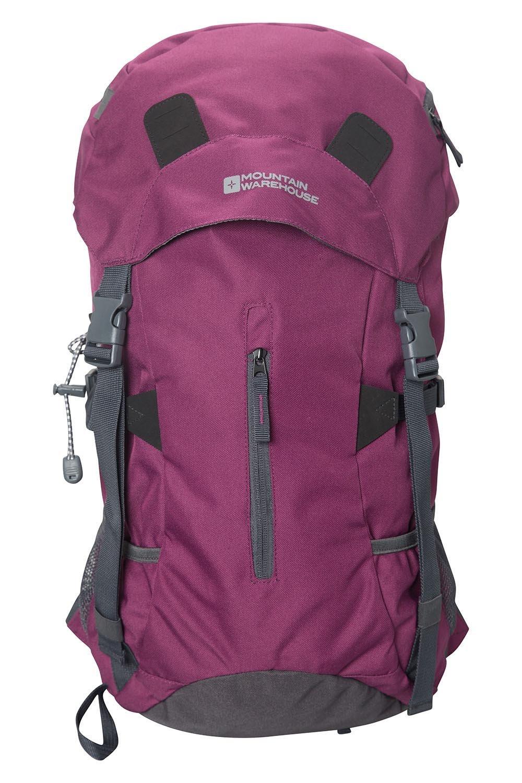 81YGBba8xrL - Mountain Warehouse Saker 35L Rucksack - Durable Backpack, Multifunctional Pockets Daysack