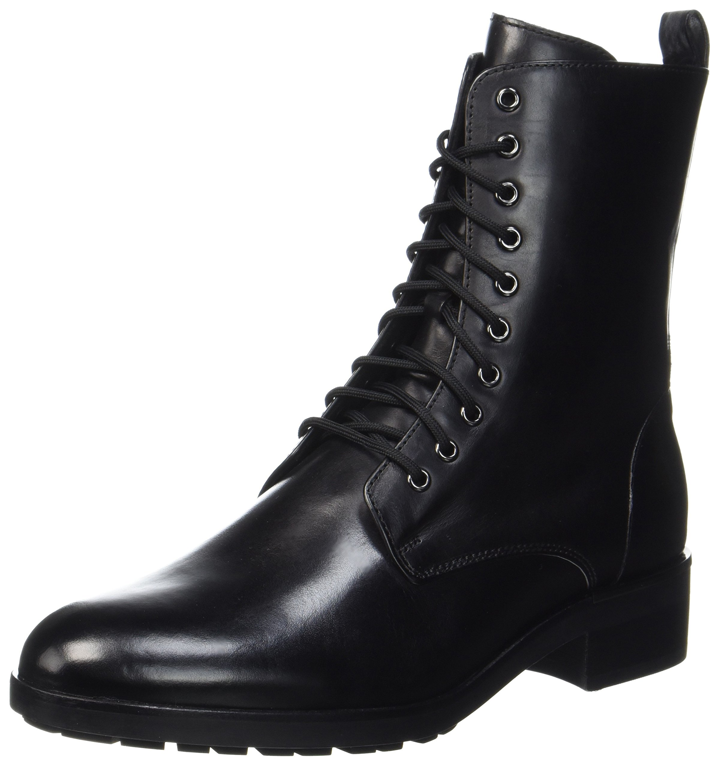 HÖGL Damen Leder Boots, Schwarz