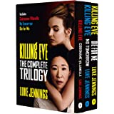 Killing Eve The Complete Trilogy Series 3 Books Collection Box Set by Luke Jennings (Die For Me, No Tomorrow & Codename Villa
