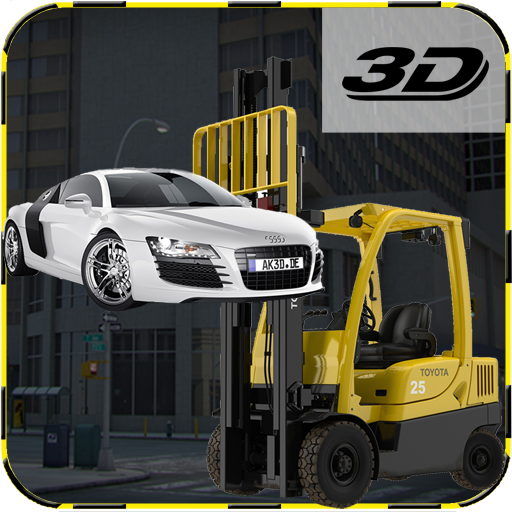car parking fork lifter sim 3d