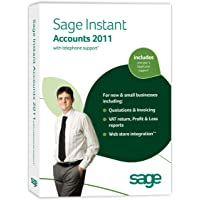 Sage Instant Accounts 2011 with Telephone Support (PC)