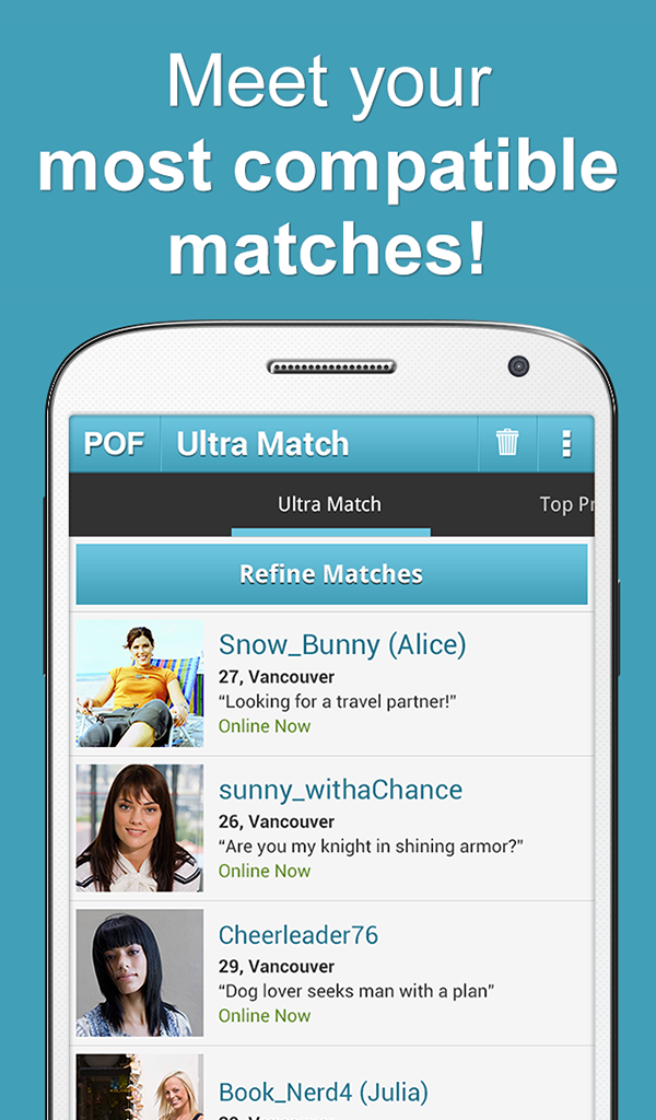 Wildfire dating app