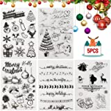 Tampon Noël,Clear Stamp noel,Silicone Tampon Transparent Noël,Silicone tampons Scrapbooking,Tampons Clear Scrapbooking,Pour D