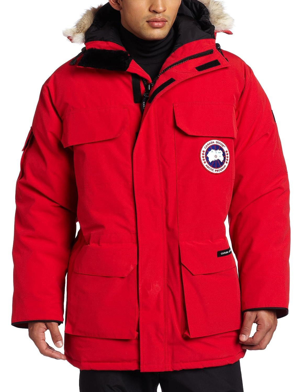 Canada Goose Expedition Parka Jacket - Red: Amazon.co.uk: Sports