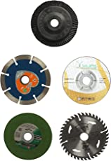 Generic Combo Offer of 4 inches or 110 mm Wheel-Grinding Angle Grinder, Set of 5
