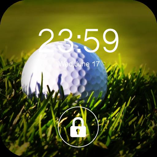 Golf Screen Lock : Theme & Wallpaper