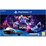 Playstation 4 - PS VR Mk5 + Camera + Gioco VR Worlds (Voucher) - Bundle Fisico Standard