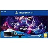 Playstation 4 - PS VR Mk5 + Camera + Gioco VR Worlds (Voucher) - Bundle Fisico Standard