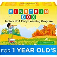 Einstein Box for Kids 1 Year Old Baby/ Toddler Boys & Girls Toys for 1 Year Old Pretend Play Gift Pack of Learning and…
