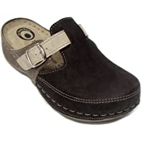 Dr Punto Rosso D235 Slip-on Womens Ladies Mule Clogs Slippers Shoes
