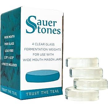 Lista Fermentology, Vetro, Glass Weights 4 PK