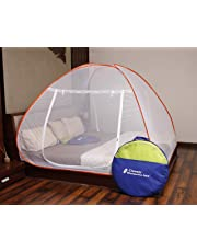 Classic Mosquito Net Foldable Flexible for Double Bed|King Size|Queen Size