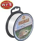 WFT Zielfisch Forelle 500m clear - Angelschnur zum Forellenangeln, Monofilschnur für Forellen, Forellenschnur zum Angeln, Schnur
