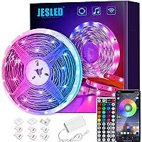 Striscia LED Wifi, JESLED LED Striscia 5M SMD 5050 RGB Strisce,Compatibile con Alexa Echo e Google Home, 44 Tasti…