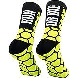 PERRO LOCO CLOTHES Calcetines compresivos de Running con Refuerzo en Puntera, prepuntera y talón. Edición Limitada.