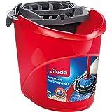Vileda – Super-Easy Torsion Power Mop Bucket, czerwone