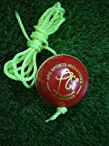APG Match Red Leather Hanging Practice Cricket Ball
