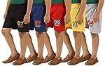 KIDDY STAR Cotton Boy's Shorts(Pack of 5,Size)