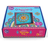 Asian Hobby Crafts Make Your Own Mandala Art Beverage Tray DIY Activity Box for Kids and Adults