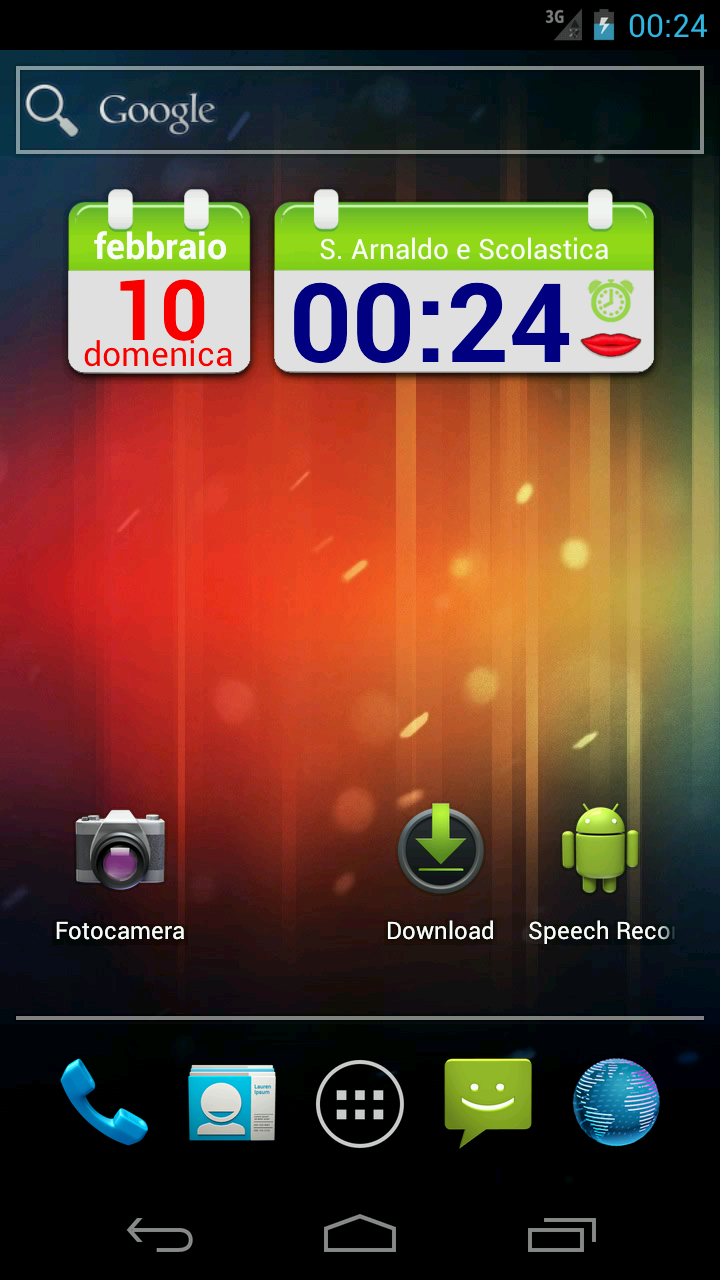 SpeakTime Glass widget: Amazon.co.uk: Appstore for Android