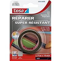 Tesa 56342-00008-01 Réparer Super Résistant Toile Forte adhésion 2,75 m x 19 mm Noir