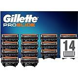 Gillette ProGlide Cuchillas de Afeitar Hombre con Tecnología FlexBall, Paquete de 14 Cuchillas de Recambio [empaque puede var