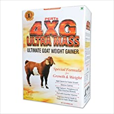 Perts 4Xg Ultra Mass Goat Weight Gainer - 1Kg