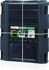 Prosper Plast ikl380C-s41171,9x 71,9x 82,6cm Compogreen Komposter–Schwarz (6-teilig)