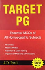 Target PG: Essential MCQ's of All Homoeopathic Subjects: 1