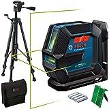 Bosch Professional Kombilaser GLL 2-15 G (grön laser, interiör, LB 10-fäste, synligt arbetsområde: upp till 15m, stativ BT 1