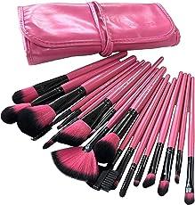 Puna Store 18 Piece Makeup brush Set (Pink)