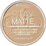 Rimmel London Stay Matte Base de Maquillaje Tono 006 Warm Beige, 14 gr