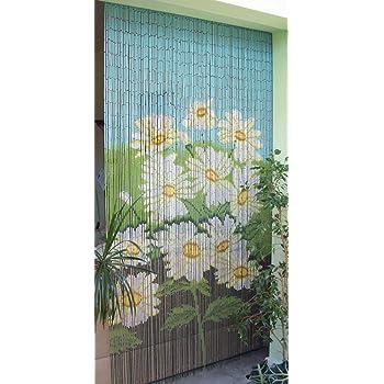 Bambusvorhang Turvorhang Margeritten Im Sondermass Ca 115x220 Cm