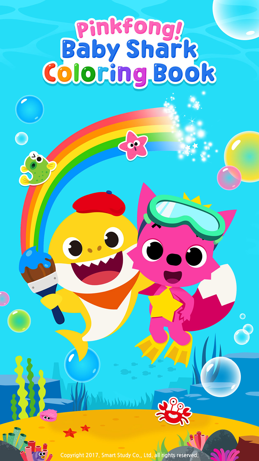 Pinkfong Baby Shark Coloring Book Amazon De Apps F 252 R Android