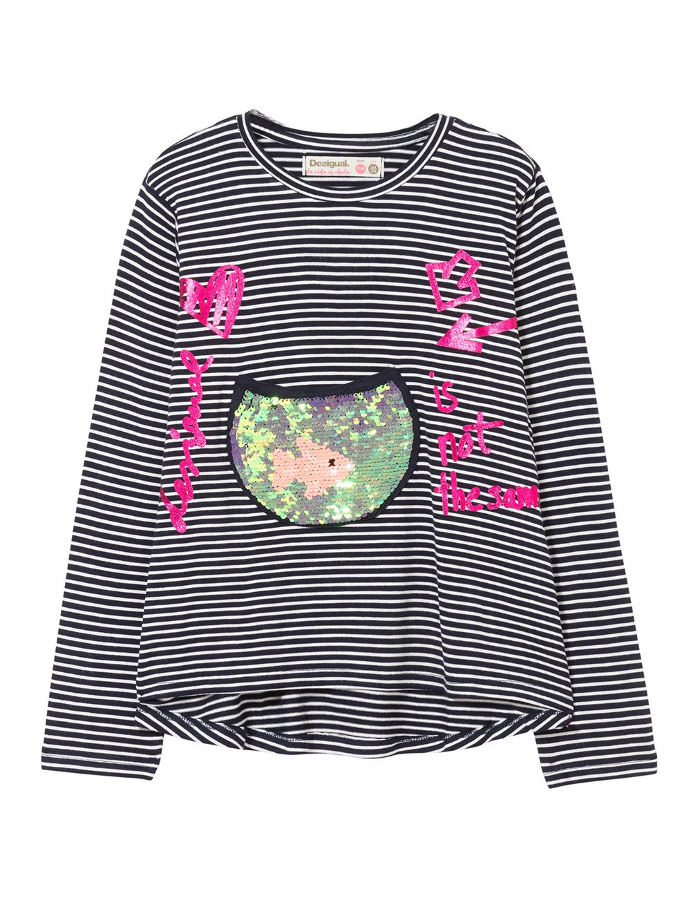 Desigual TS_Washington Camiseta para Niñas