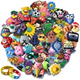 Lof of 30 50 100pc Random shoe charms for Clog Shoes Decorations Wristband Bracelet Party Favors