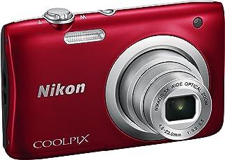 Nikon Coolpix A100Digitalkamera kompakt, 20.1Megapixel, Zoom 5x, HD, Silber