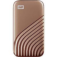 WD 2TB My Passport SSD portatile con tecnologia NVMe, USB-C, fino a 1.050 MB/s in lettura, fino a 1000MB/s in scrittura…