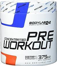 Bodylab24 Concentrated Pre Workout Geschmack: Fruchtmix, der Booster für mehr Pump und Fokus bei Deinem Training oder Wettkampf, 375g