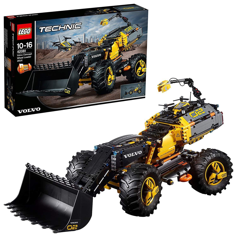 LEGO Technic 42081 – Volvo Konzept-Radlader ZEUX, Kinderspielzeug