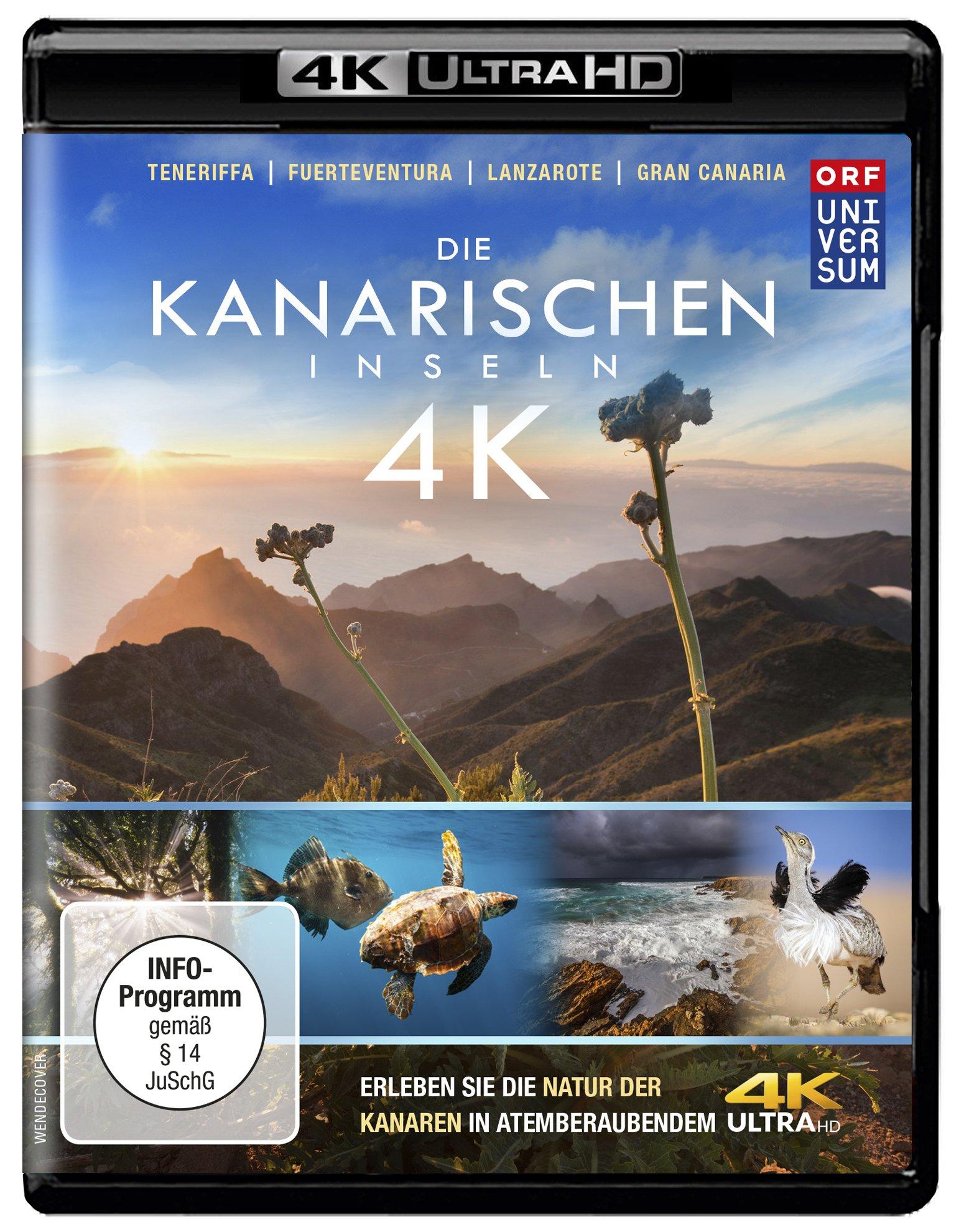 Die Kanarischen Inseln (4K Ultra HD) Teneriffa l Gran Canaria l Lanzarote l Fuerteventura l La Gomer